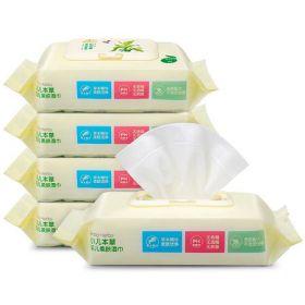 婴儿柔肤湿巾 *5包