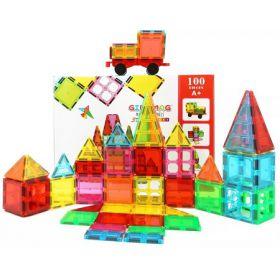 Giro Mag彩窗积木  宝宝儿童透明彩色益智拼图磁力片