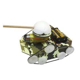 家庭小创客 STEAM 盒子(军事主题)坦克