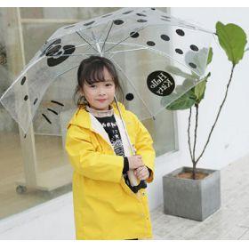 儿童小雨衣 男女童可爱小学生雨披3D立体