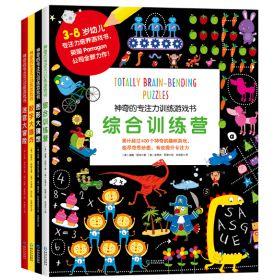 神奇的专注力训练游戏书全4册