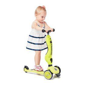 英国COOG酷骑儿童滑板车3轮二合一多功能平衡车